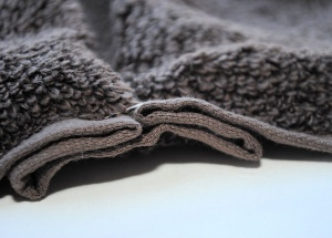 Making a hooded towel