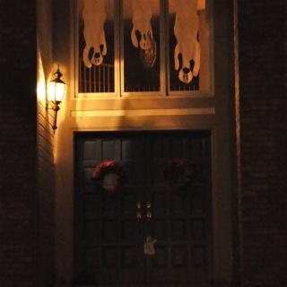 Spooky Window Ghosts