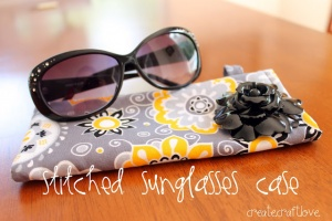 Make a sunglasses holder