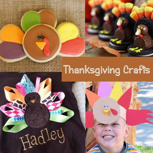 Easy Kids Thanksgiving Crafts