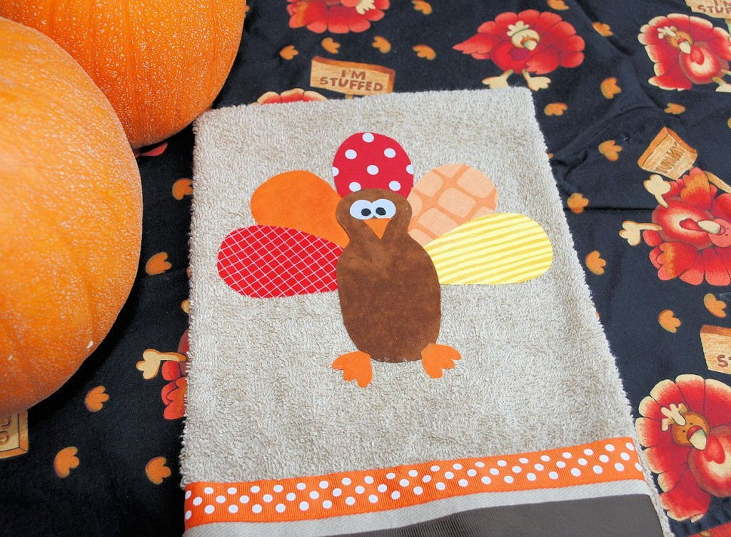 Diy Turkey Thanksgiving Hand Towels