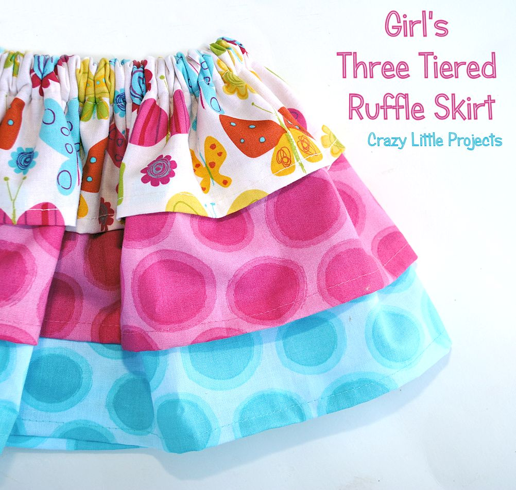 Baby Skirt Tutorial