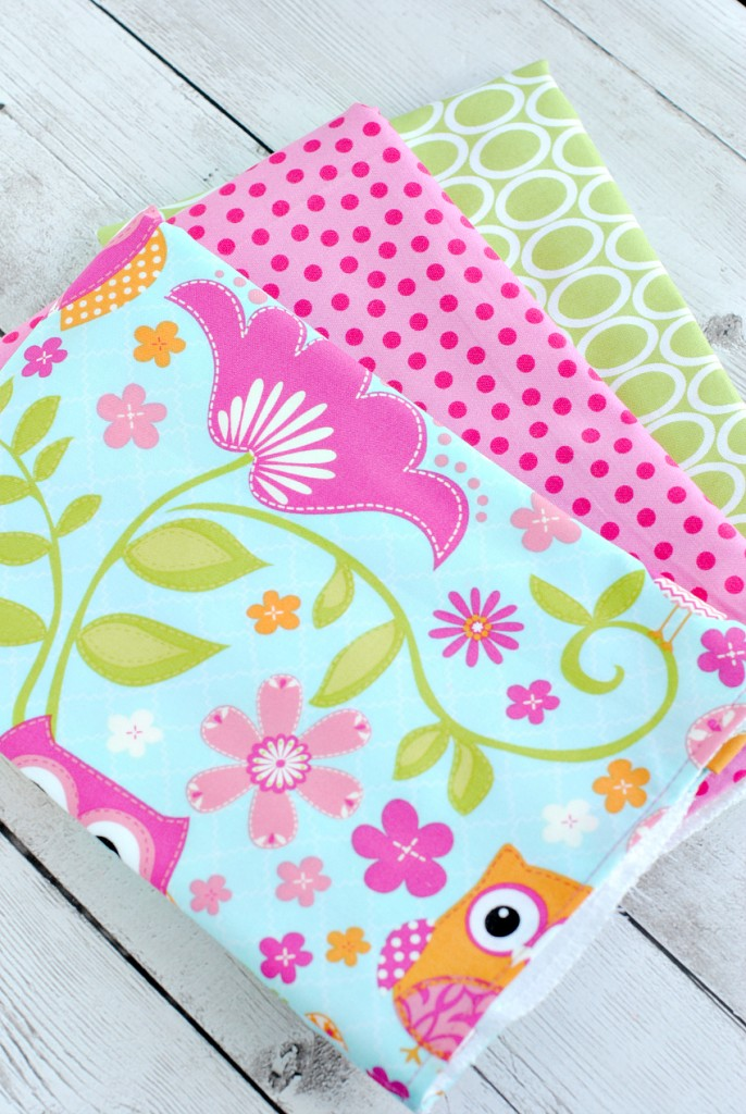 How to Make Burp Cloths for Baby
