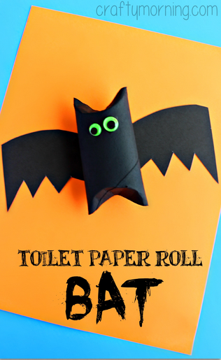 toilet-paper-roll-bat-halloween-craft-for-kids