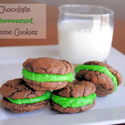 Chocolate Mint Christmas Cookies Recipe