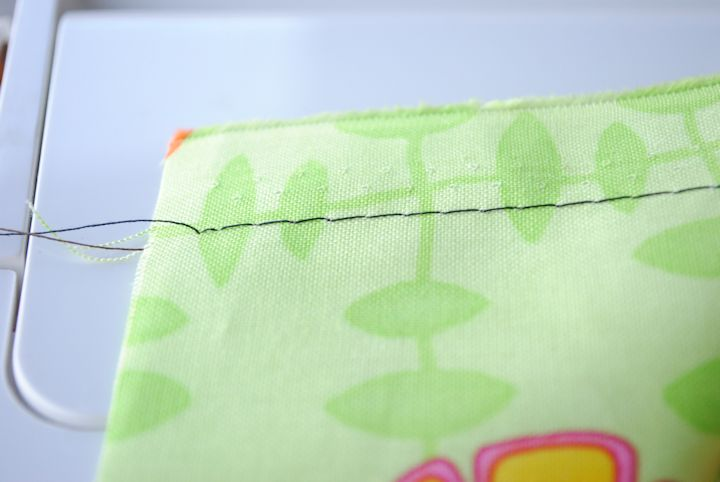 How to Baste Stitch
