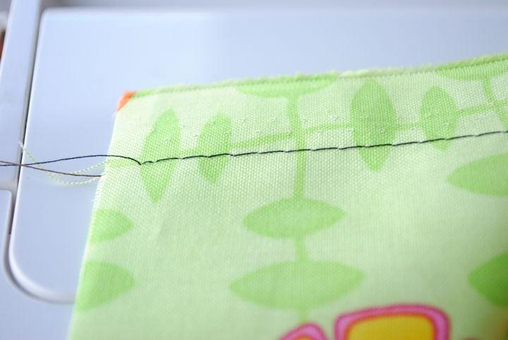 How to Baste Stitch