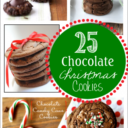 25 Favorite Chocolate Christmas Cookies