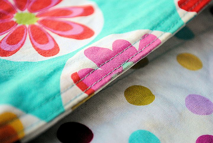 How do you top stitch?