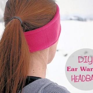 DIY Ear Warmer Headband