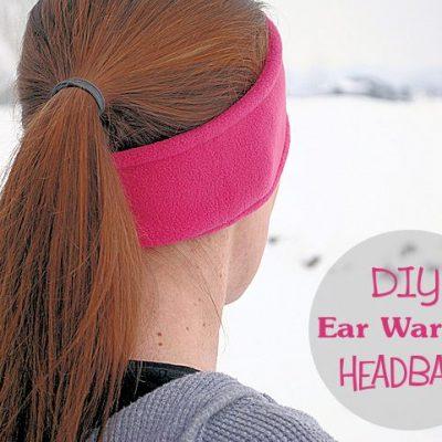 Ear warmer headband pattern
