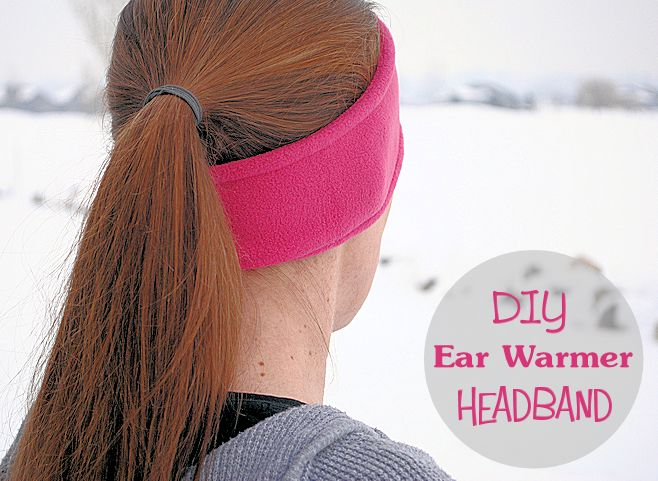 Ear warmer headband pattern