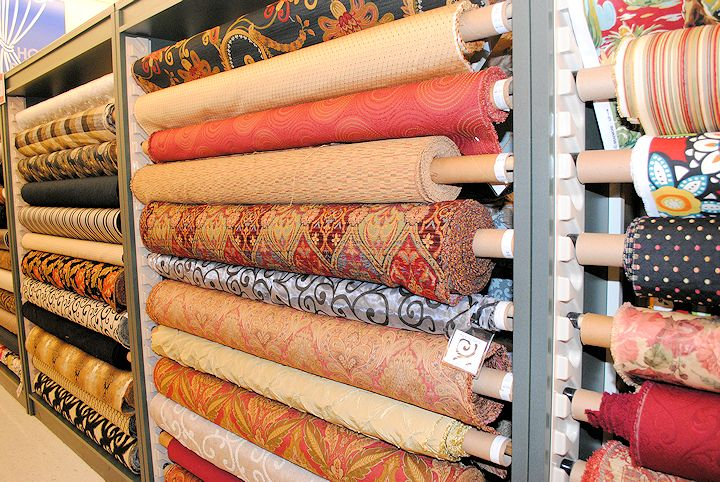 Understanding different types of fabric crazy little for Designer fabric store