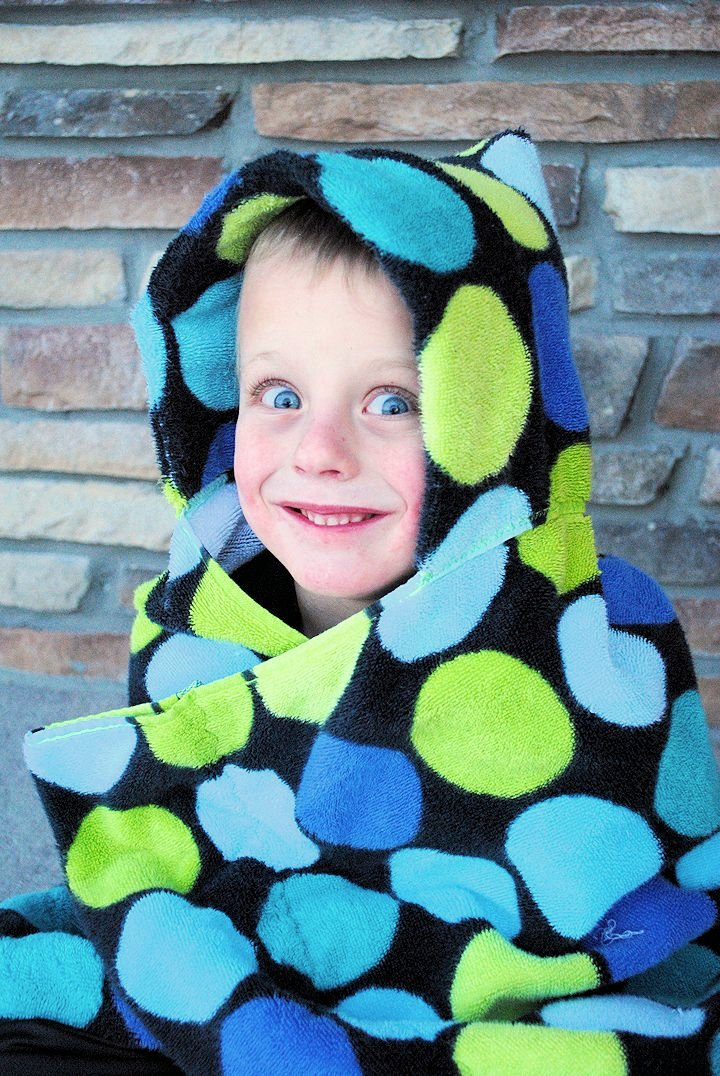 Hooded Towel Pattern
