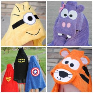 How to Make a Hooded Towel for Toddlers & Kids