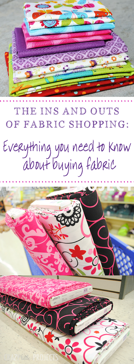 A Guide to How to Buy Fabric: Understanding different types and how to find your way around the fabric store