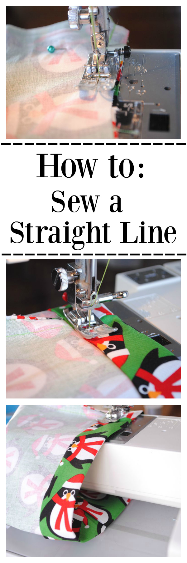How to Sew a Straight Line and Other Free Sewing Classes
