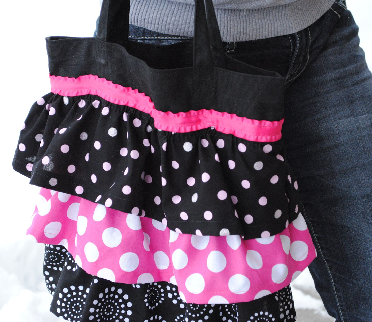 Ruffle Tote Bag Tutorial