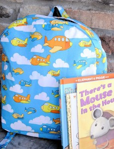 Preschool Backpack Pattern and Tutorial
