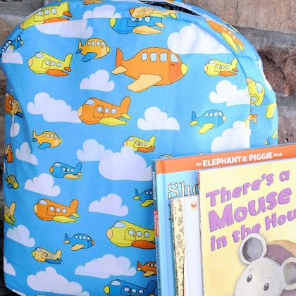 Cute Kid's Backpack Pattern