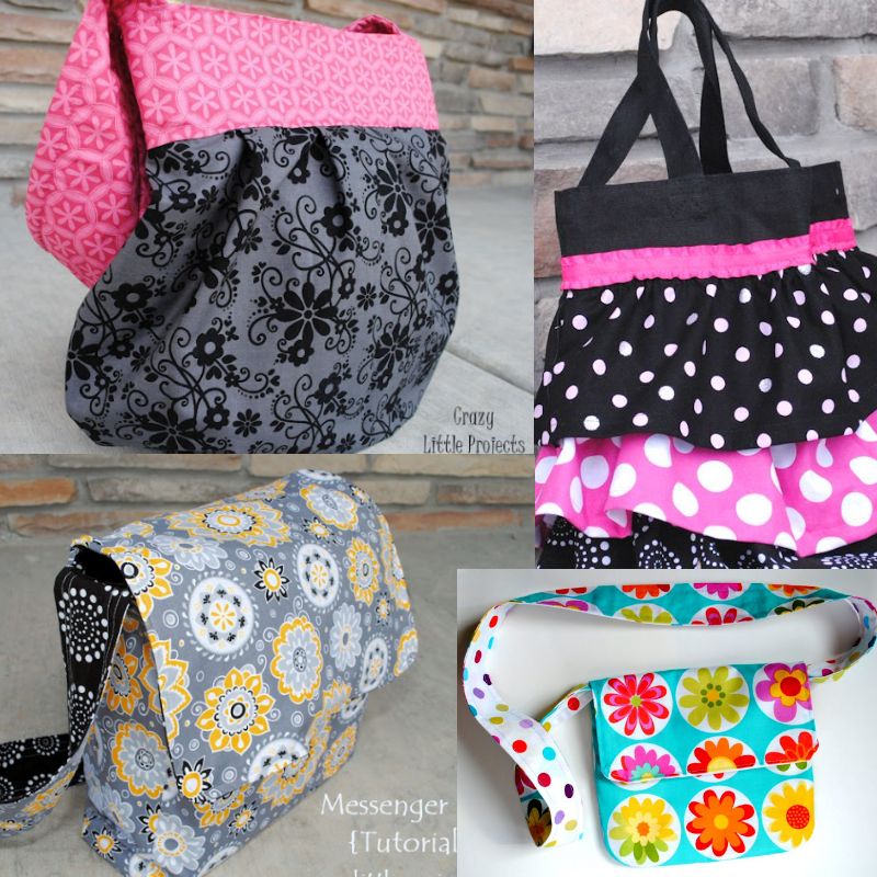 4 Bags to Sew