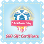 $50 Gift Card to Fat Quarter Shop