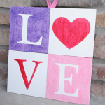 Love Sign for Valentine's Day