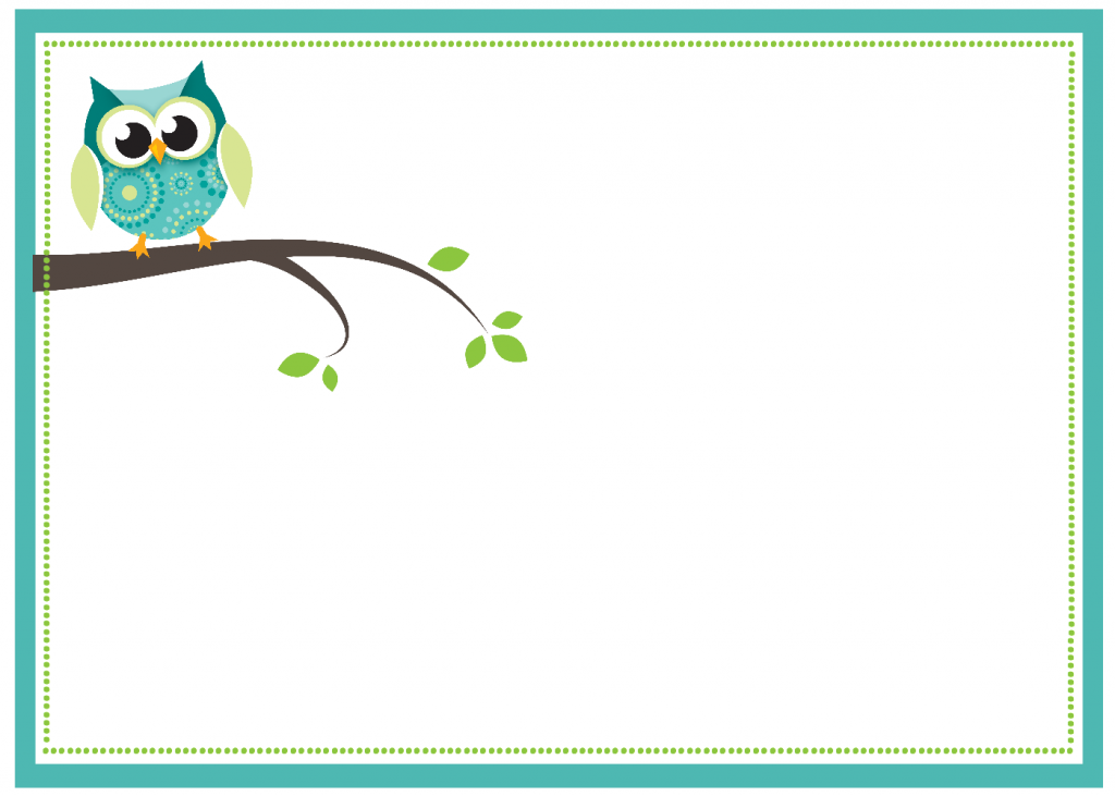 Owl Baby Shower Invitations for Boys