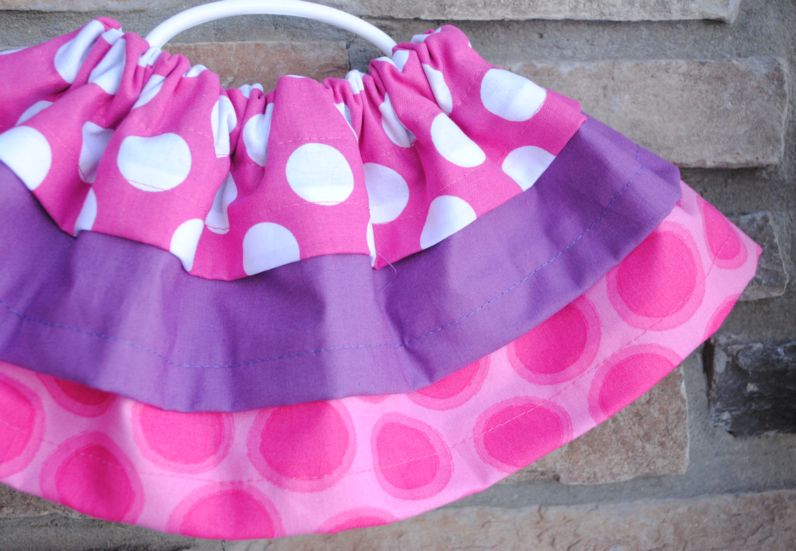Easy Baby Skirt Tutorial and Pattern