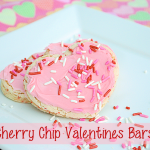 Quick and Easy Cherry Chip Valentine Bars