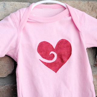 DIY Valentine Shirts {& a Craft Paint Giveaway!}
