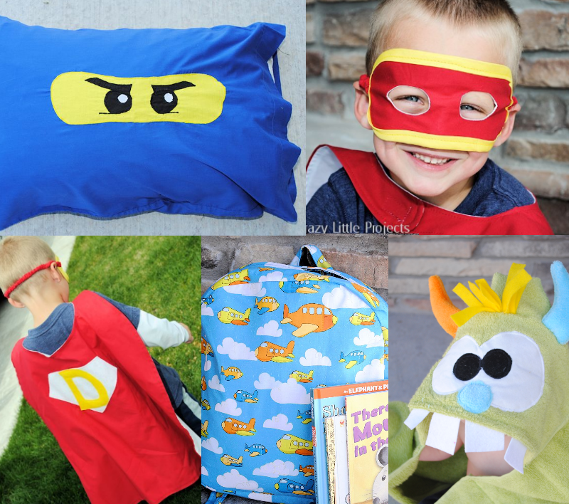 Things to Sew for Boys