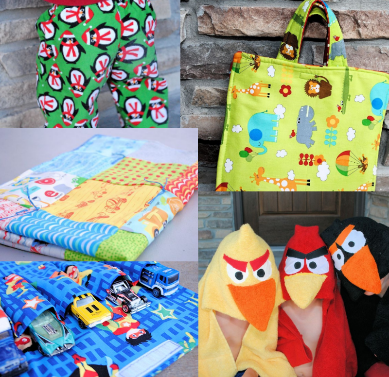 Christmas gifts to sew for kids