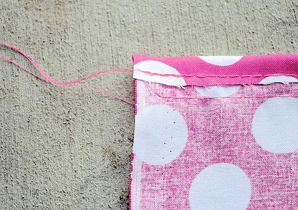 How to Sew ruffles