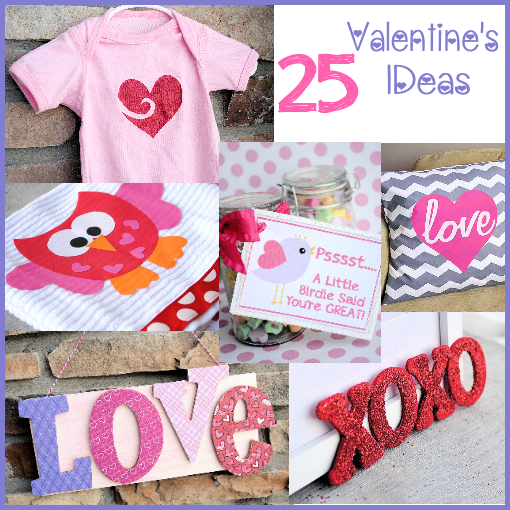 25 Valentine's Ideas: Crafts, Treats, Decor & More