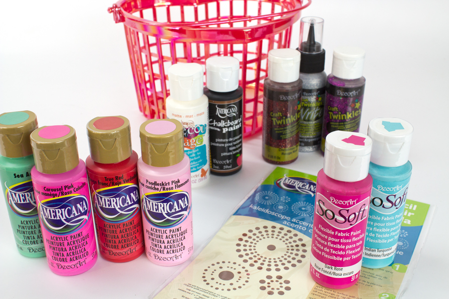 Valentine's Basket of Paint Giveaway