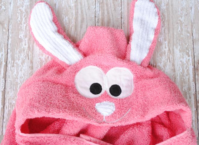 Bunnyhoodedtoweltutorial
