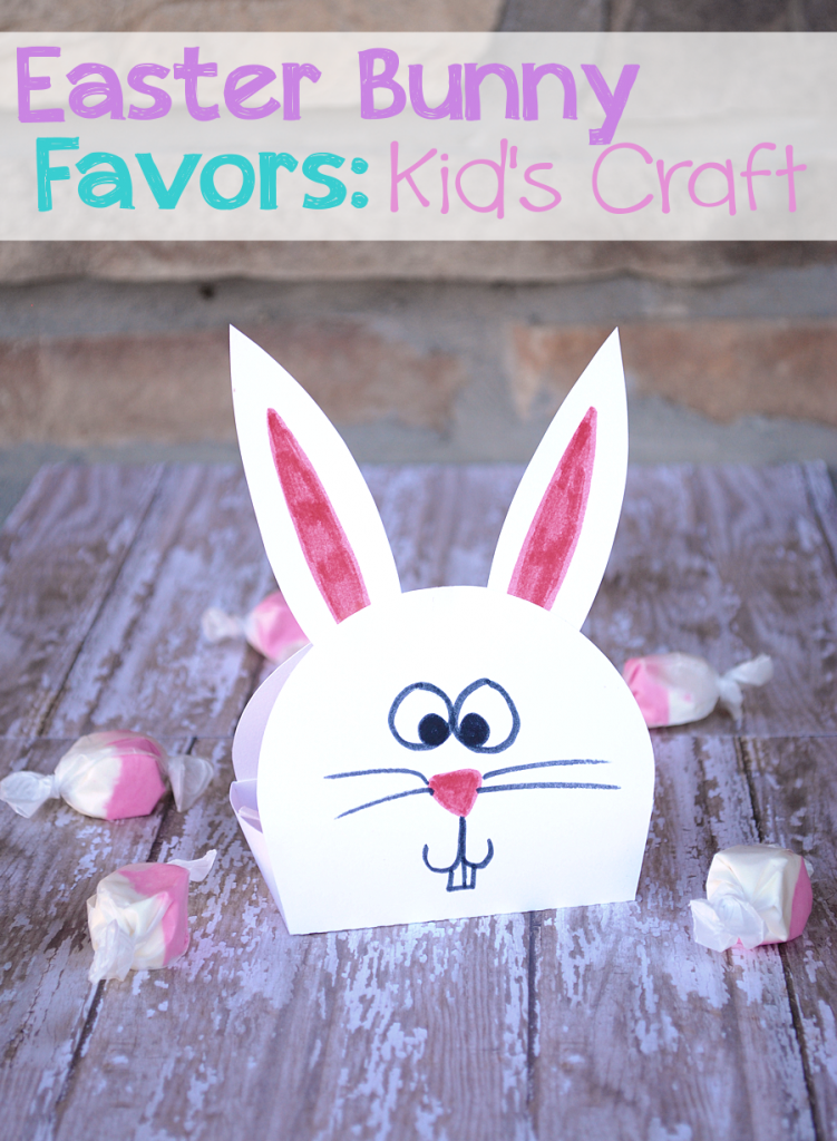 Easter Bunny Favors by CrazyLittleProjects.com #easter #bunny
