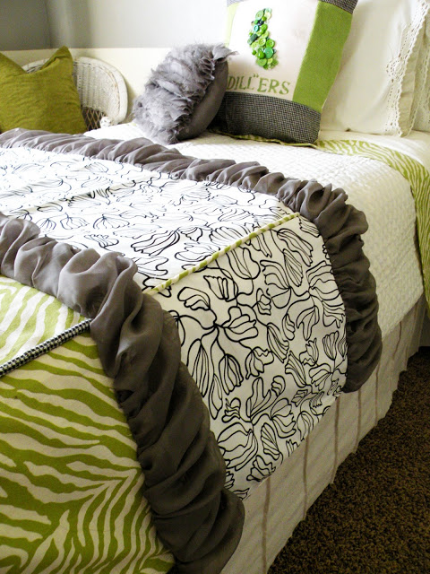 Fabric Scrap Bedding