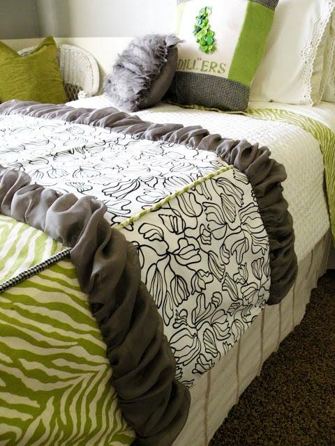 Fabric Scrap Bedding