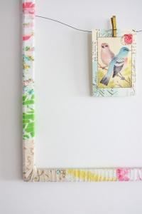 Fabric Scrap Frame