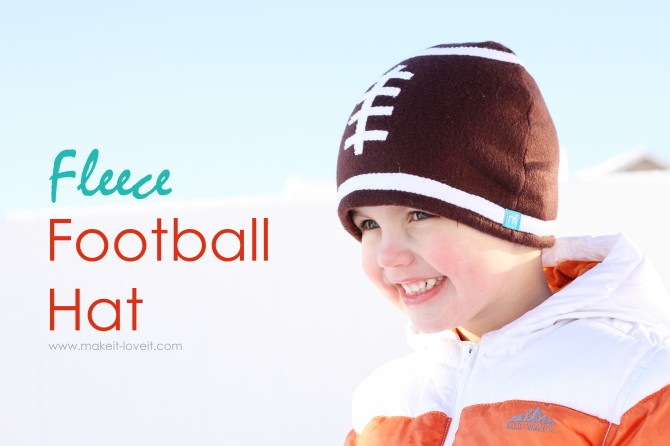 Fleece Football Hat