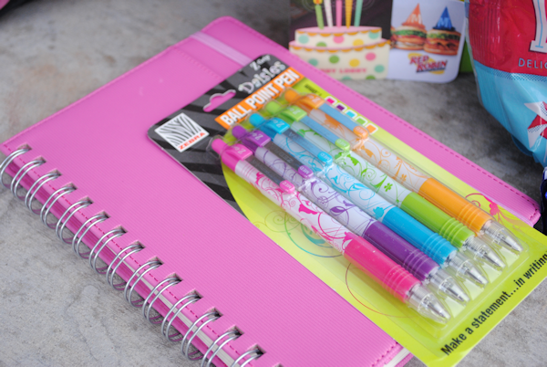 Notebookandpens