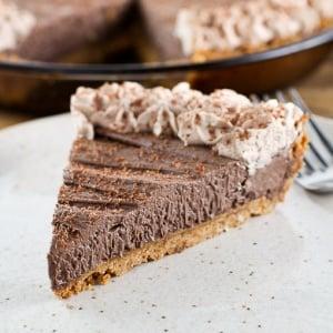 Chocolate Peanut Butter Cream Cheese Pie
