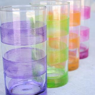 Lemonade Glasses Tutorial