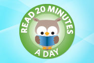 Take the Pledge: Read 20 Minutes a Day