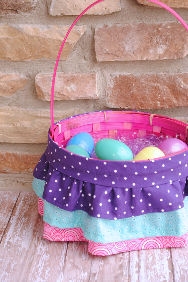 Ruffle Easter Basket