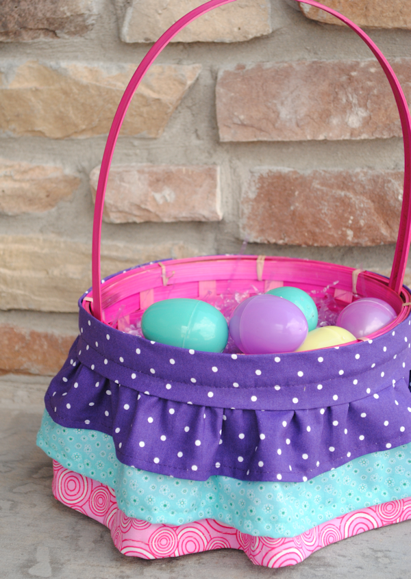 How to Make a Ruffled Easter Basket