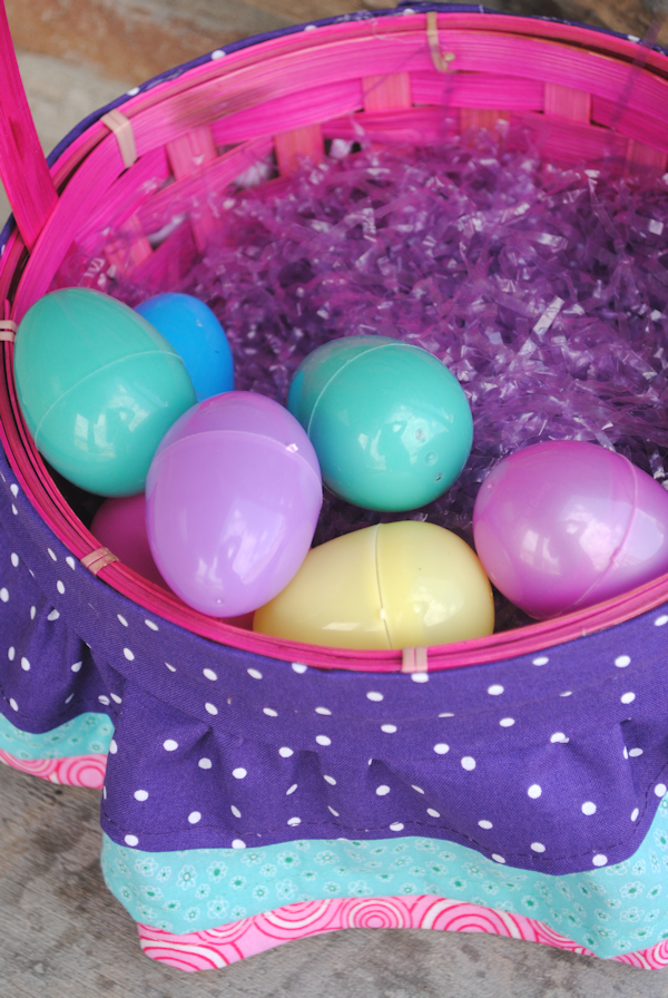 Ruffle Easter Basket Tutorial