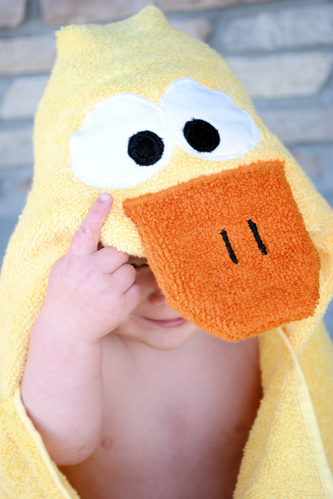 Duck Towel for Baby